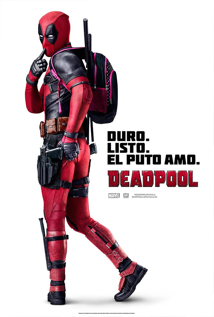 DEADPOOL, 15 JULIOL 22H