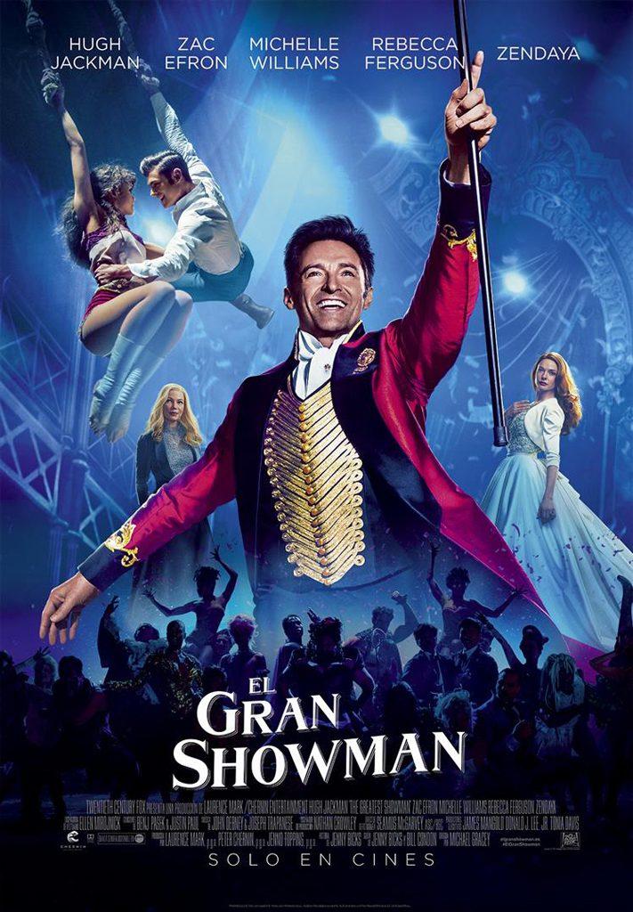 EL GRAN SHOWMAN, 14 JULIOL 22H